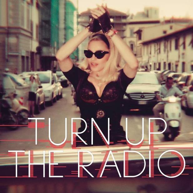 Madonna 'Turn Up the Radio' artwork
