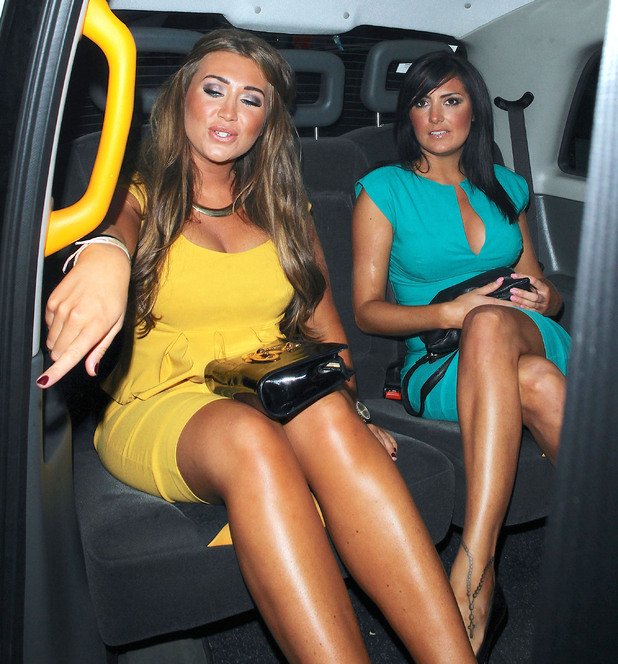 Lauren Goodger and Nicola Goodger
