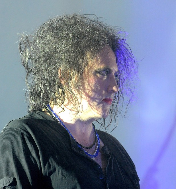 Robert Smith of the Cure performs at the Heineken Jamming Festival Milan, Italy