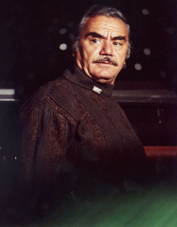 Ernest Borgnine in 'The Black Hole', 1979