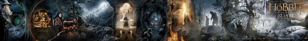 The Hobbit banner poster - WATERMARKED