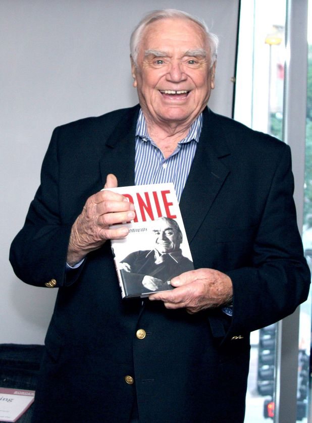 Ernest Borgnine attends an 'Ernie: The Autobiography' book signing