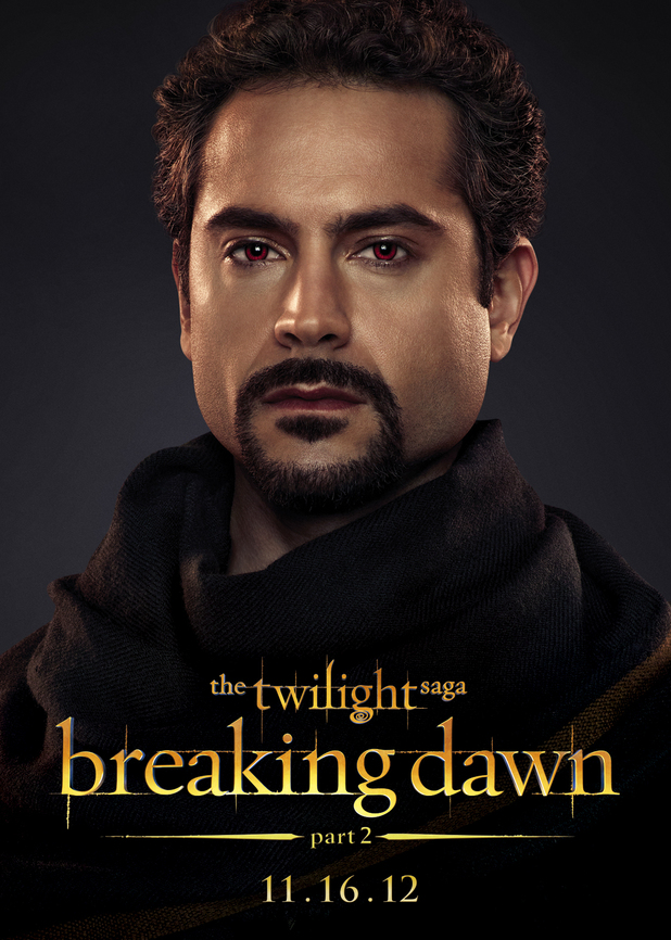The Twilight Saga: Breaking Dawn Part Two - Amun from The Egyptian Coven.