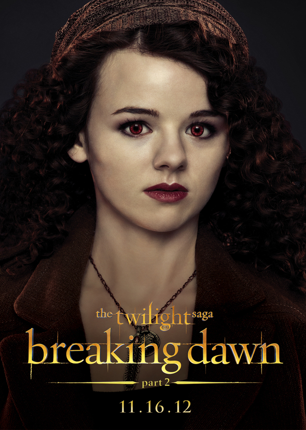The Twilight Saga: Breaking Dawn Part Two - Maggie from The Irish Coven.