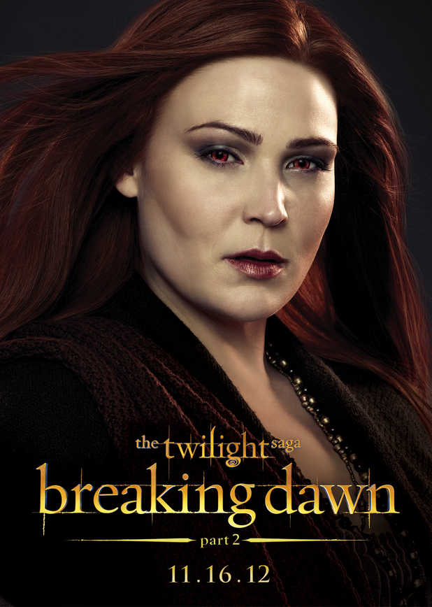 The Twilight Saga: Breaking Dawn Part Two - Siobhan from The Irish Coven.