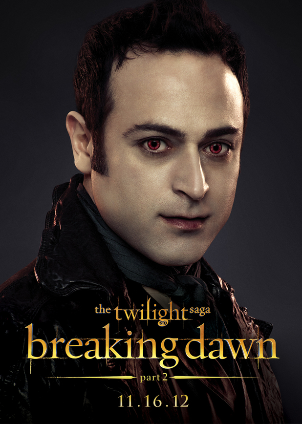 The Twilight Saga: Breaking Dawn Part Two - Stefan from The Romanian Coven.