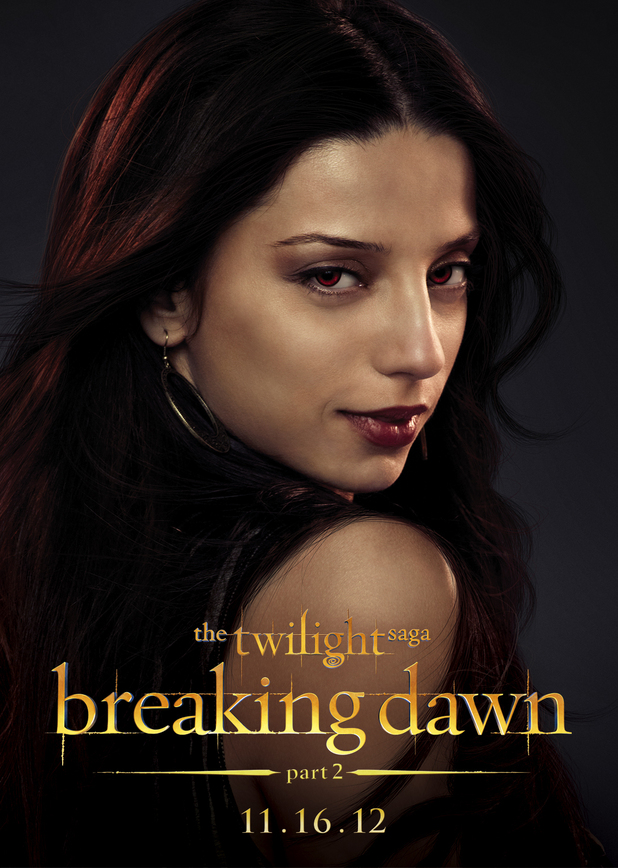 The Twilight Saga: Breaking Dawn Part Two - Tia from The Egyptian Coven.