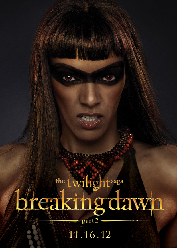 The Twilight Saga: Breaking Dawn Part Two - Zafrina from The Amazon Coven.