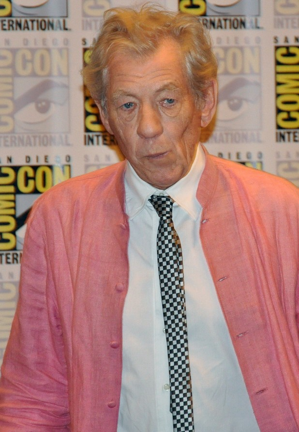 'The Hobbit' film panel: Sir Ian McKellen