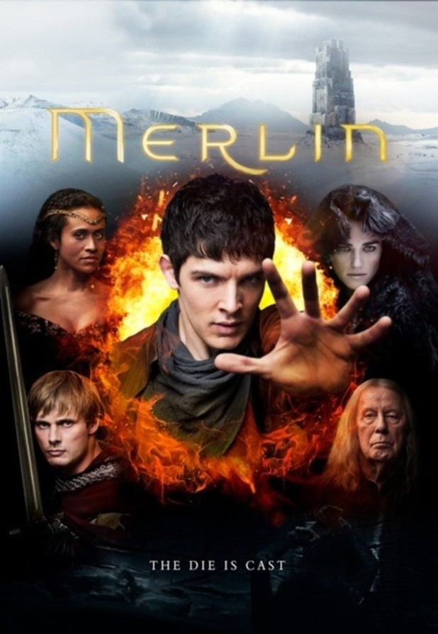 Merlin series 5 poster