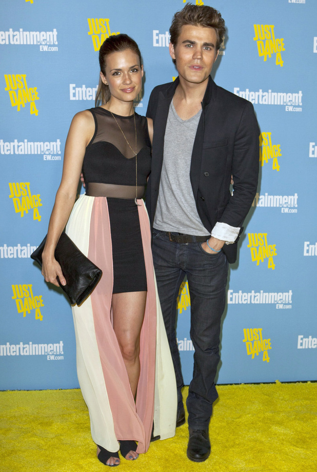 Celebrities at Comic-Con 2012: Torrey DeVitto and Paul Wesley