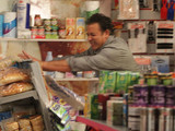 An emotional Dev returns to the corner shop where he completely loses control of his emotions