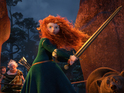Pixar's Scotland-set animation beats Bourne Legacy to lead the UK box office.