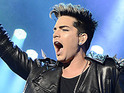 Adam Lambert wows crowds at London's Hammersmith Apollo.