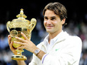 Tennis star's seventh Wimbledon title leads to six-figure donation via wager.