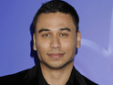 Ricky Norwood was reportedly videoed naked and smoking cannabis on Skype.