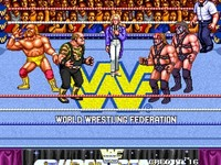 Still from the WWF Wrestlefest