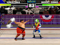 Still from the WWF Wrestlemania Arcade