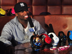 50 Cent and his SMS headphones
