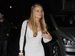 Cressida Bonas at Dark Knight Rises premiere