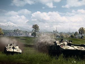 'Battlefield 3: Armored Kill' screenshot