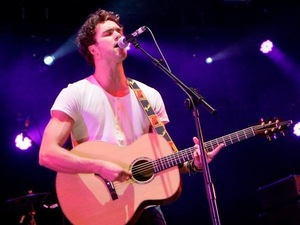 Lawson play at the Hard Rock Calling music festival in Hyde Park, London