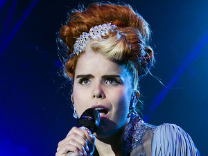 Paloma Faith performing live at the Summer Series at Somerset House in London