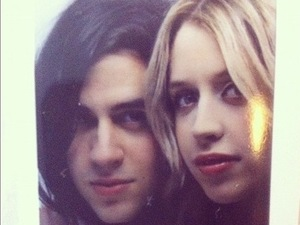 Peaches Geldof and Thomas Cohen photo booth