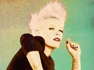 Pink 'The Truth About Love' artwork