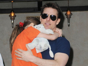 Tom Cruise and Suri together first time since split