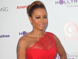 Mel B attends the Design Care Event to benefit the HollyRod Foundation.