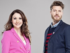 Channel 4 Paralympic Presenters: Rick Edwards and Daraine Mulvihill