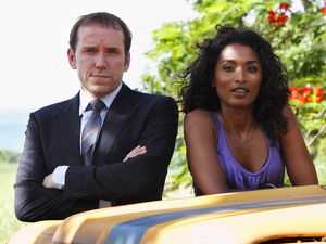 Sara Martins and Ben Miller in &#39;Death in Paradise&#39;