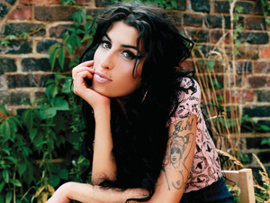 Amy Winehouse in publicity photo for Back to Black, 2006 album