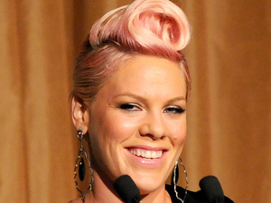Pink aka Alecia Moore 2012 Music Visionary of the Year Award Luncheon, held at The Pierre Hotel - Inside New York City, USA - 12.07.12 Credit: (Mandatory): Ivan Nikolov/WENN.com