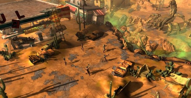 Still from Wasteland 2 game development