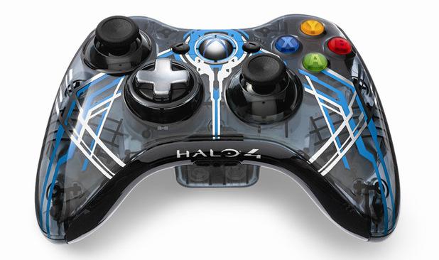 Halo 4 Xbox 360 console controller