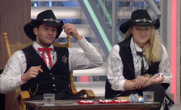 Big Brother 2012 - Day 41: Conor and Caroline