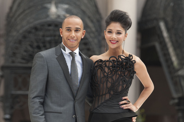 Lewis Hamilton and Nicole Scherzinger Men in Black 3' film premiere London, England - 16.05.12 Mandatory Credit: Lia Toby/WENN.com