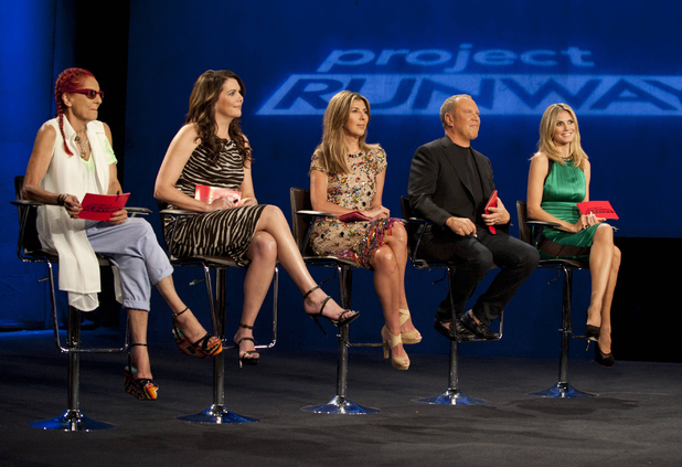Patricia Field and Lauren Graham guest judge along side Nina Garcia, Michael Kors and Heidi Klum in the premiere of Project Runway.