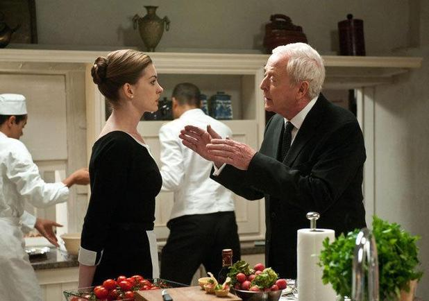 The Dark Knight Rises Anne Hathaway Michael Caine