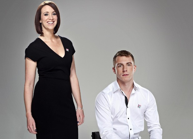 Channel 4 Paralympic Presenters: Arthur Williams and Georgie Bingham