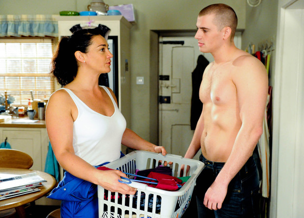 Moira tries to reunite Alex with Victoria but he continues to flirt with her.