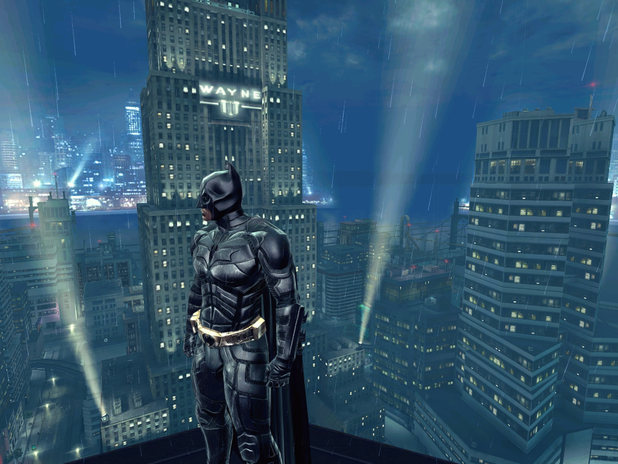 Batman building top
