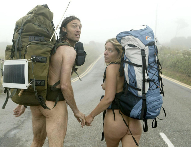Naked ramblers Stephen Gough and girlfriend Melanie Roberts