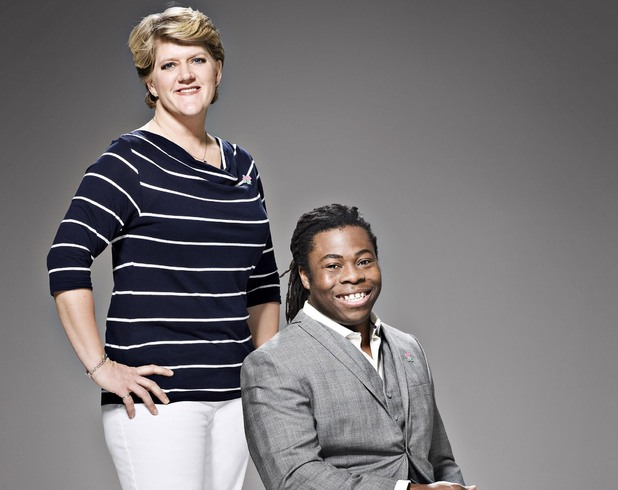 Channel 4 Paralympic Presenters: Clare Balding and Ade Adepitan