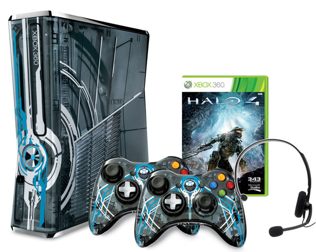 Halo 4 Xbox 360 console bundle