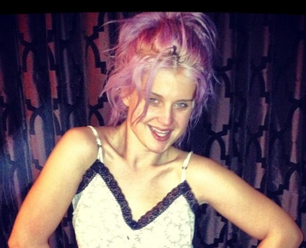 Kelly Osbourne without make-up