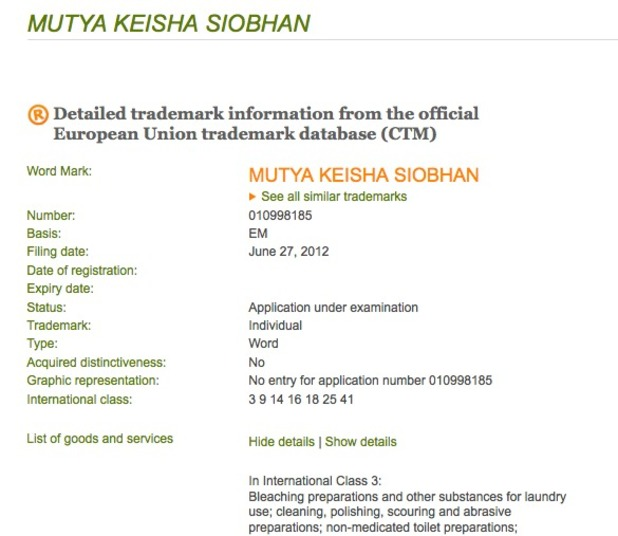 Mutya Keisha Siobahn document