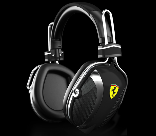 Logic3 Ferrari Headphones in pictures